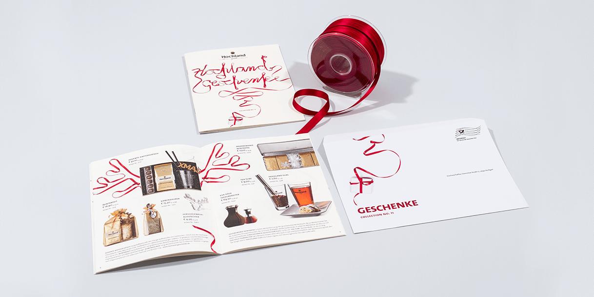 Hochland Kaffee – Broschüren, Banderolen, Mailings | Von Affenfels GmbH